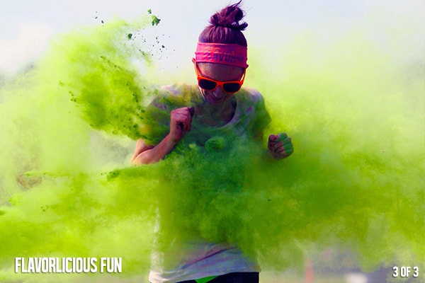 Flavor Run Color Run 5k Family Events Chattanooga